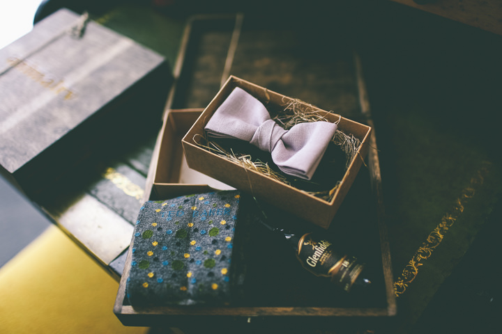 York Wedding bow tie By Emma Boileau Photography at Merchant Adventure's Hall.