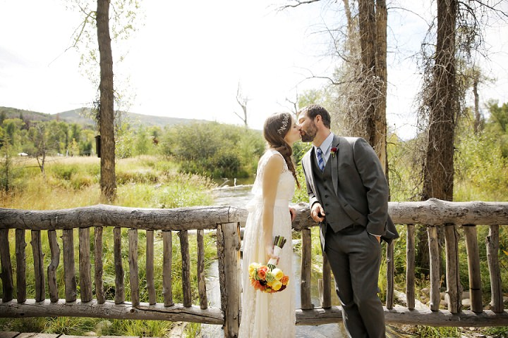 16 Outdoor Utah Wedding With a BHLDN Dress by Logan Walker Photography