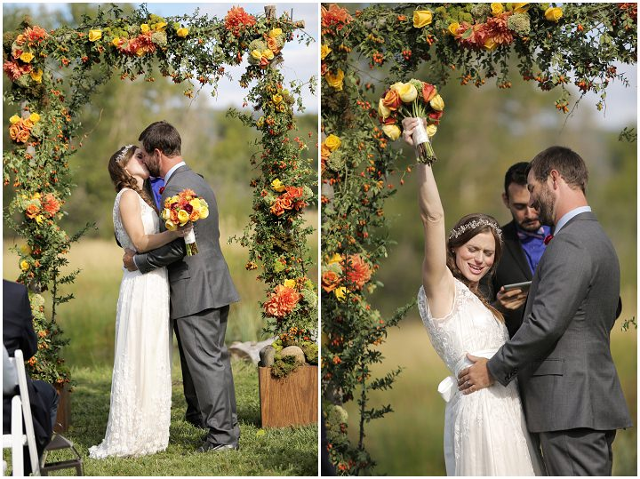 21 Outdoor Utah Wedding With a BHLDN Dress by Logan Walker Photography