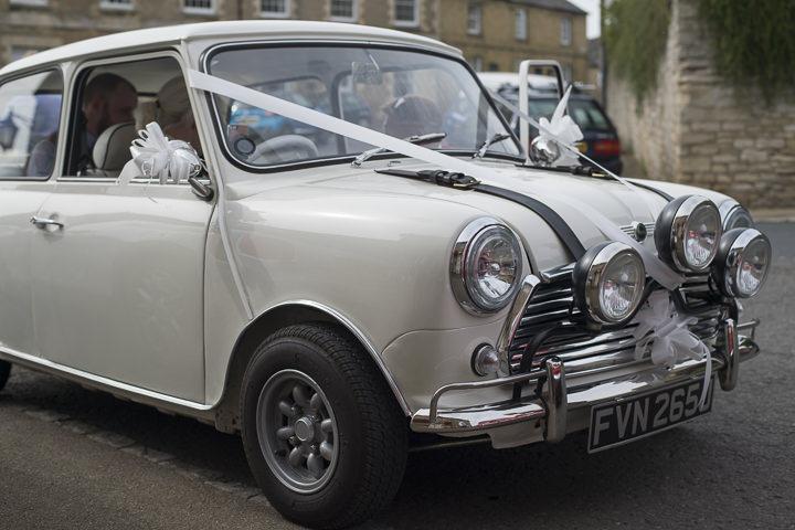 Bohemain Handfasting Wedding mini car By Kit Fraser Photography