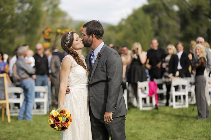 23 Outdoor Utah Wedding With a BHLDN Dress by Logan Walker Photography