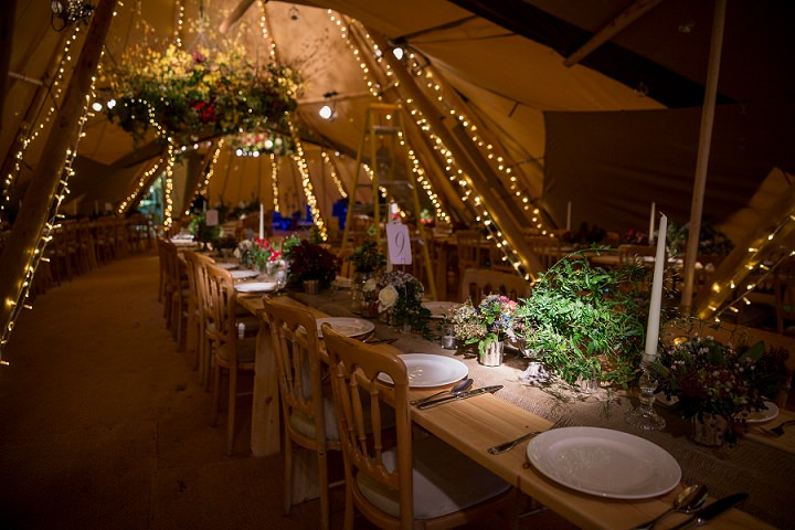 24 Winter Wonderland Tipi Wedding By Coastal Tents and Thomas Alexander