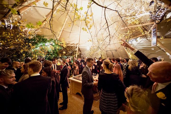 26 Winter Wonderland Tipi Wedding By Coastal Tents and Thomas Alexander