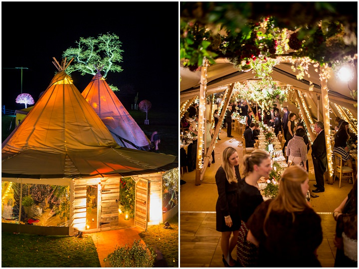 31 Winter Wonderland Tipi Wedding By Coastal Tents and Thomas Alexander