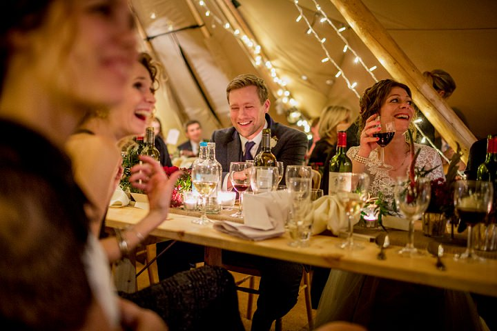 37 Winter Wonderland Tipi Wedding By Coastal Tents and Thomas Alexander