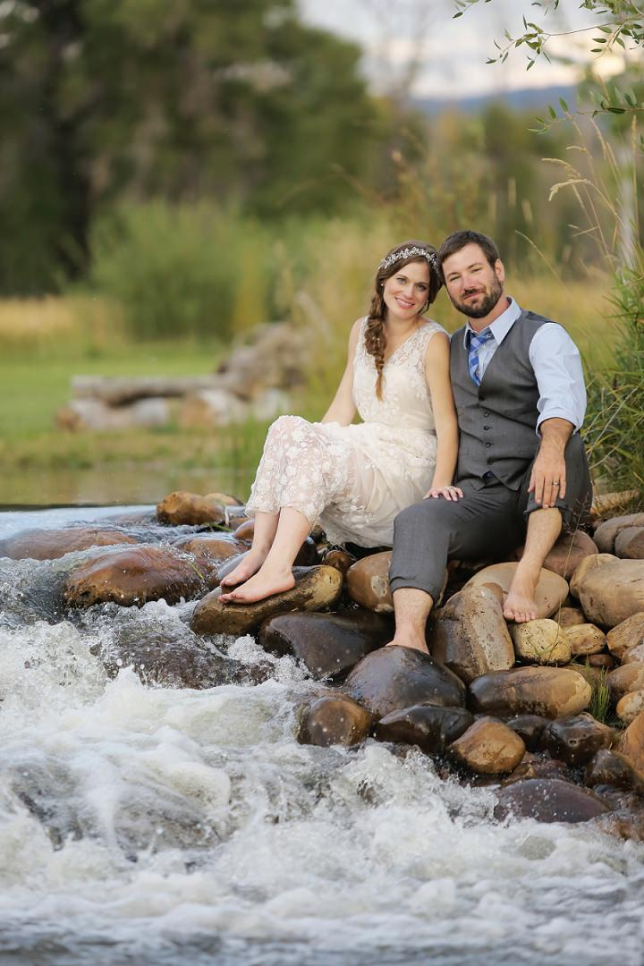 38 Outdoor Utah Wedding With a BHLDN Dress by Logan Walker Photography