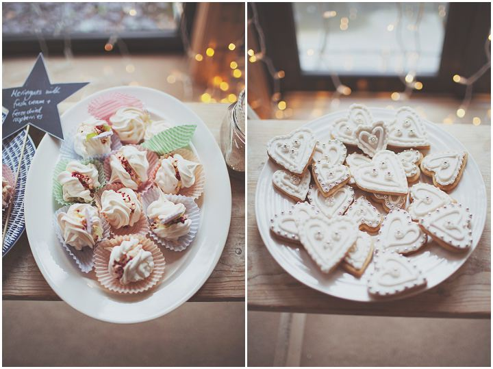 Styal Lodge Wedding sweet treats in Cheshire By On Love and Photography