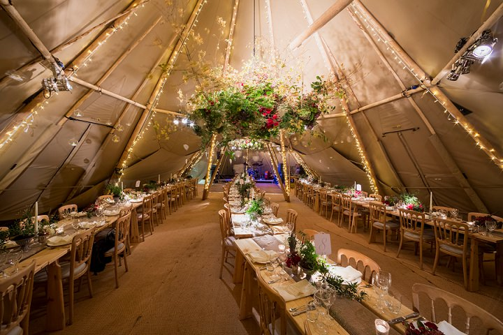 4 Winter Wonderland Tipi Wedding By Coastal Tents and Thomas Alexander
