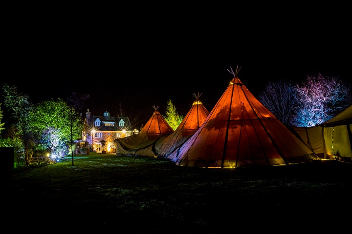 42 Winter Wonderland Tipi Wedding By Coastal Tents and Thomas Alexander