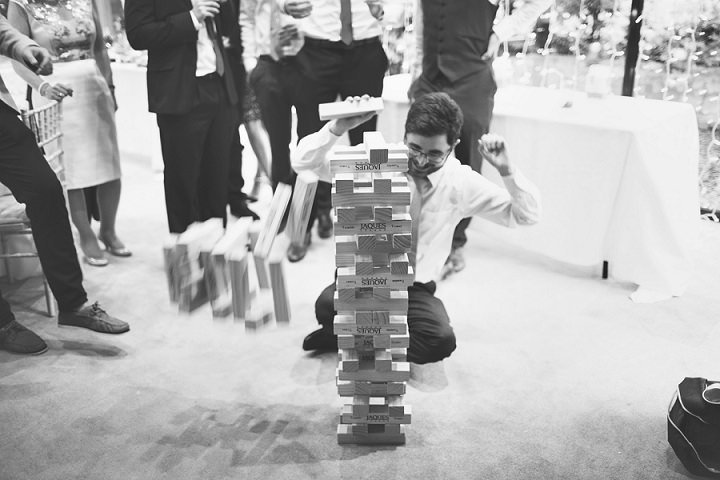 Styal Lodge Wedding jenga in Cheshire By On Love and Photography