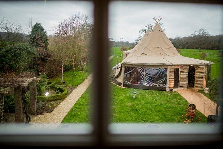 5 Winter Wonderland Tipi Wedding By Coastal Tents and Thomas Alexander