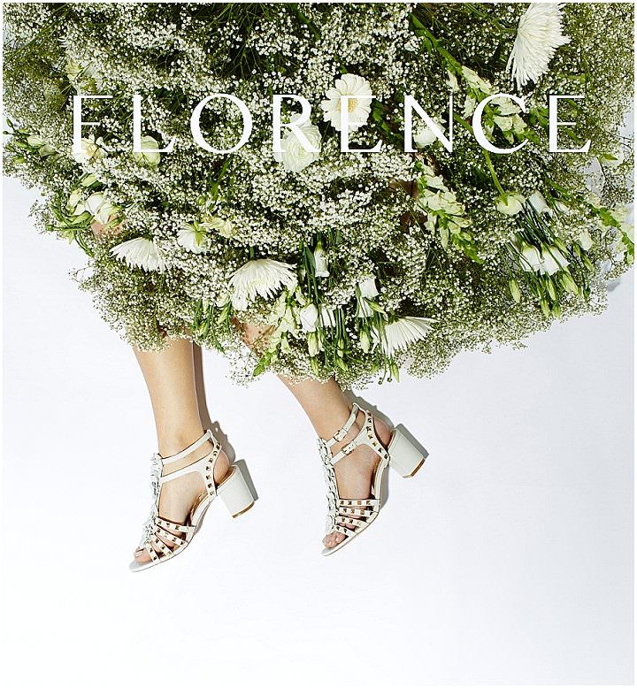 Bridal Style: Florence Footwear - Contemporary Details and High Fashion Trends