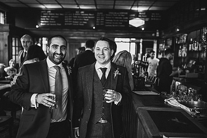 James and Jessica's Laid Back London Pub Wedding by Joe Kingston