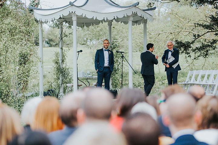 16 Outdoor Wedding at Preston Court by Matt Wing