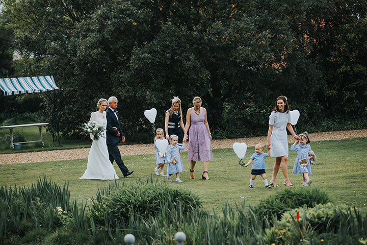 Camilla and Joseph's Beautiful Outdoor Wedding at Preston Court by Matt Wing