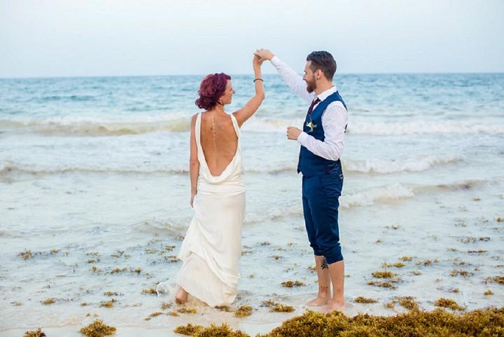 Mexico intimate wedding