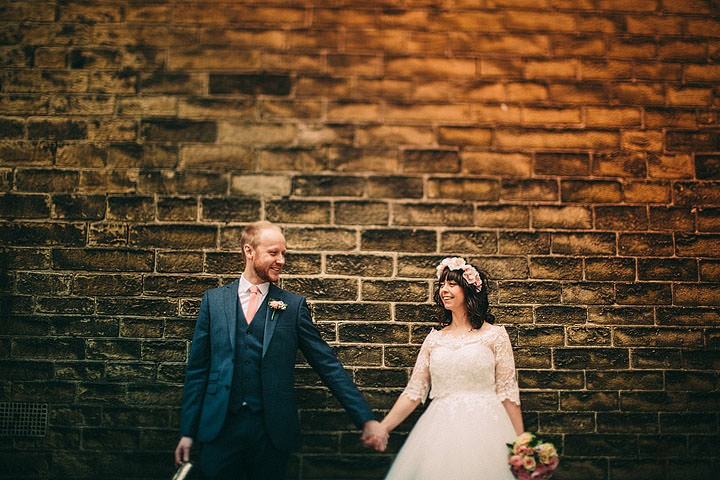Sarah and Tim's Theatre Hall Wedding with a Woodland Theme by Lawson Photography