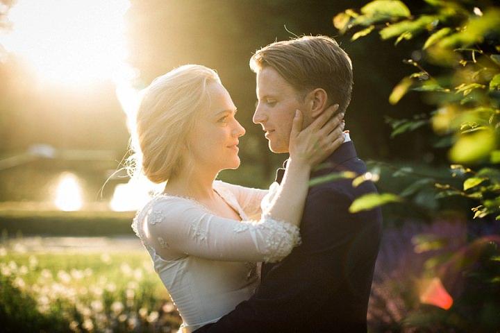 Sara and Olle's Elegant Garden Wedding in Sweden by Loke Roos