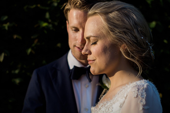 Sara and Olle's Elegant Garden Wedding in Sweden by Loke Roos