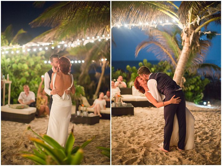 Elo And Florian S Intimate Beach Wedding In Mexico By Kathleen Geiberger Art