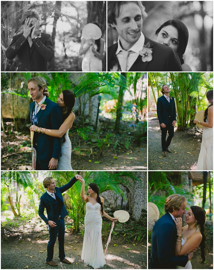 Gen & TJ's Tropical Beach Wedding in the Dominican Republic by Katya Nova Photography