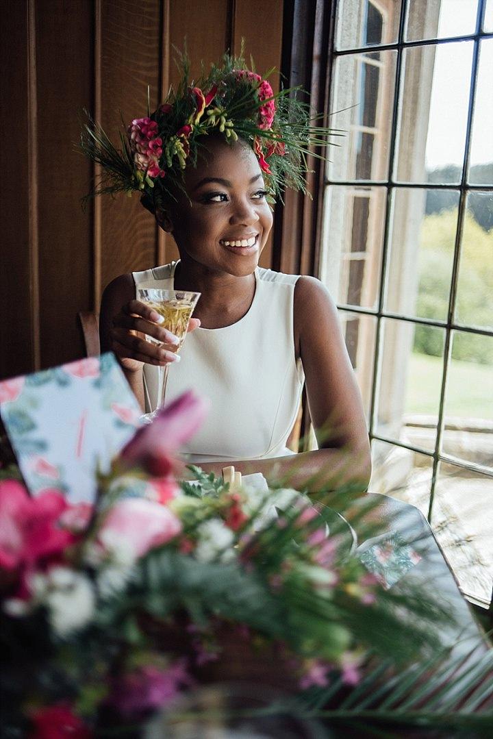 Exotic Tropical Garden Wedding Inspiration