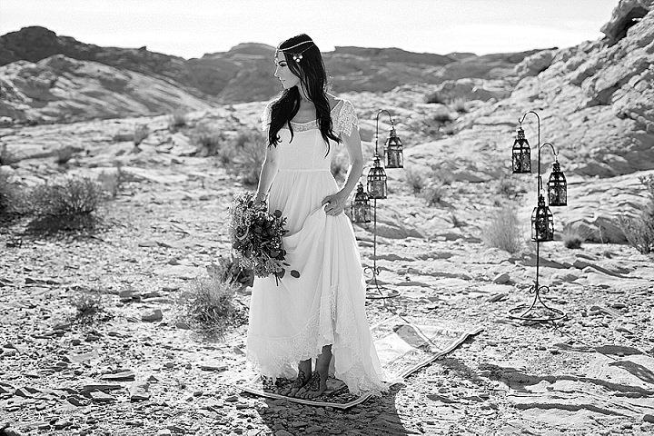 Moroccan Wedding Inspiration in the Valley of Fire