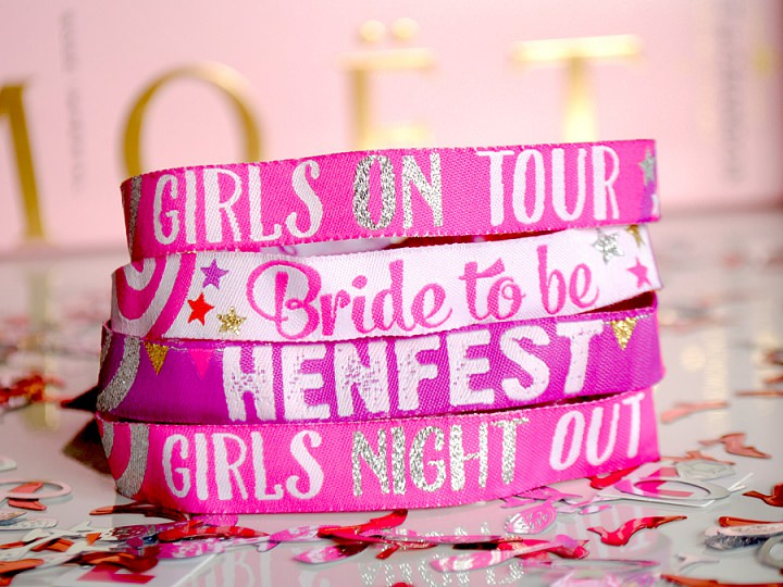 Boho Loves: Hen Party Wristbands from Wedfest