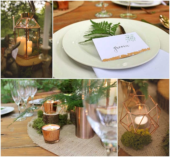 Woodland Luxe Inspiration by the Rustic Wedding Company