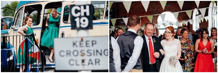 Helen and Patrick's Vintage Inspired Train Museum Wedding by Marianne Chua