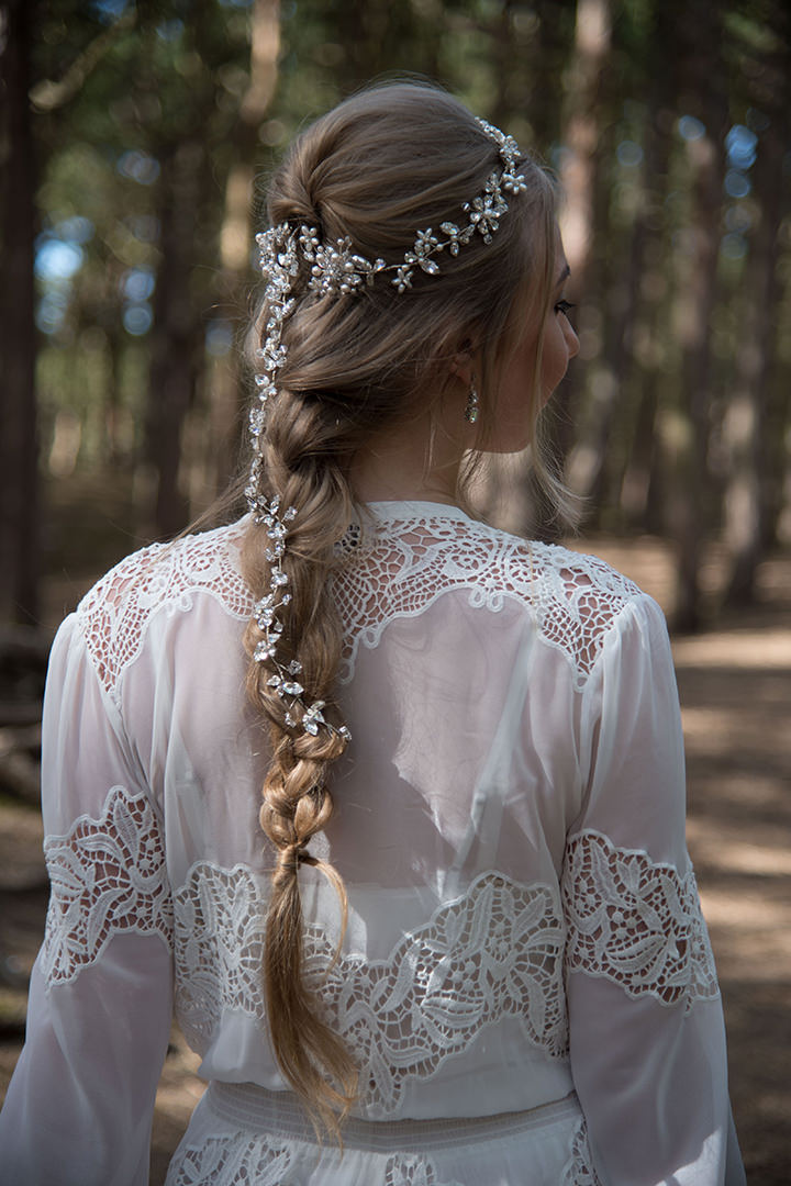 Bridal Style - Rocks for Frocks: Enchanted Forest Headpiece Collection