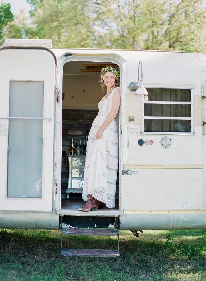 Cary and Ramsie's Sothern Charm Meets Boho Outdoor Rustic Wedding by Alison Epps
