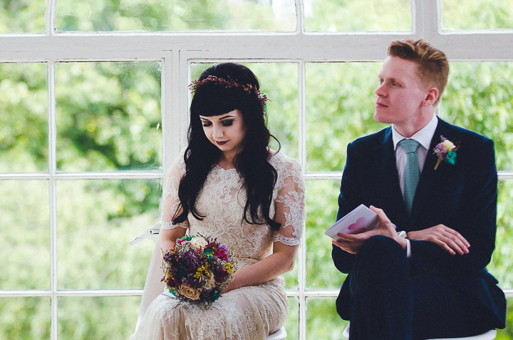 nat and jons industrial glam two part london wedding by