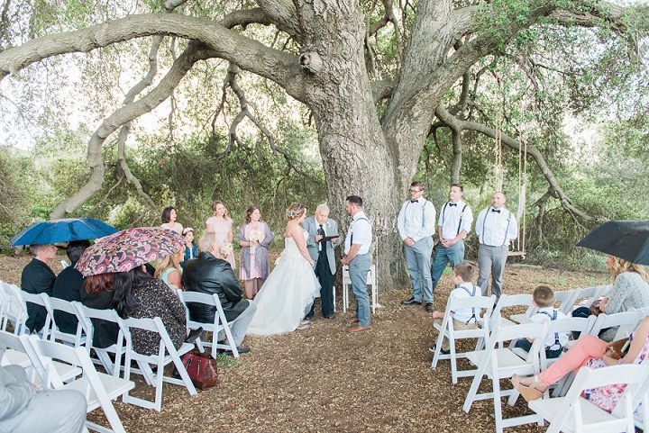 Shania and Seth's Rustic Outdoor California Wedding with First Look by Stevie Dee Photography