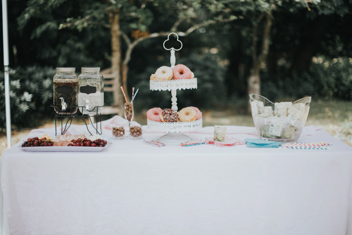 Jennifer and Christian's Herbal Themed Outdoor Forest Wedding by Rivkah Photography