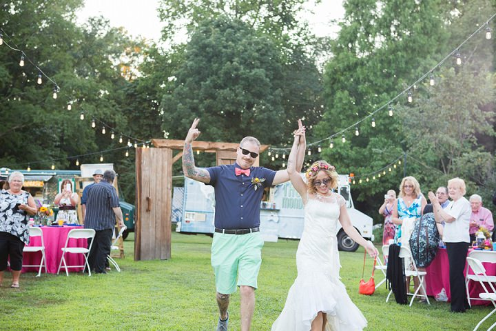 Julia And Jays Bright Beautiful Food Truck Wedding By Susan Hennessey Photography