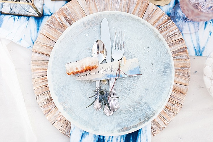 Indigo and Geode Inspiration - A Fine Art West Coast Elopement_0005