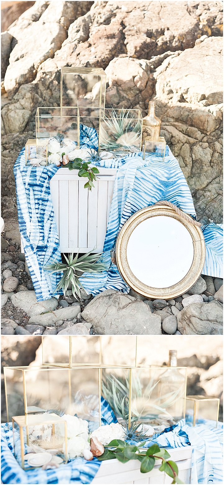 Indigo and Geode Inspiration - A Fine Art West Coast Elopement_0010