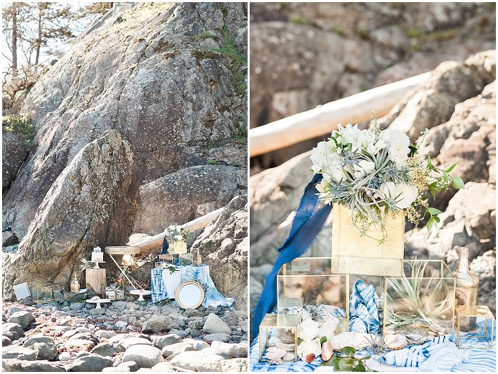 Indigo and Geode Inspiration - A Fine Art West Coast Elopement_0019