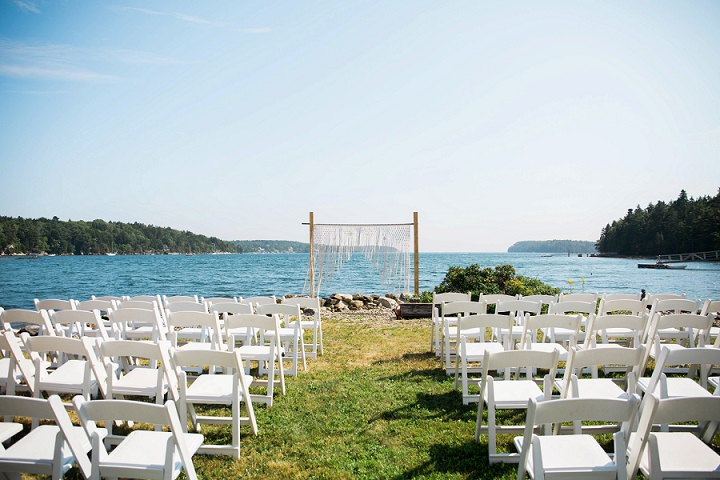 Sydney and Aaron's Lobster Bake and Lawn Games Bohemain Wedding by Julie K Gray Photography