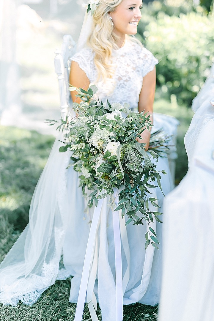 Swedish Garden Wedding Inspiration by Linda-Pauline