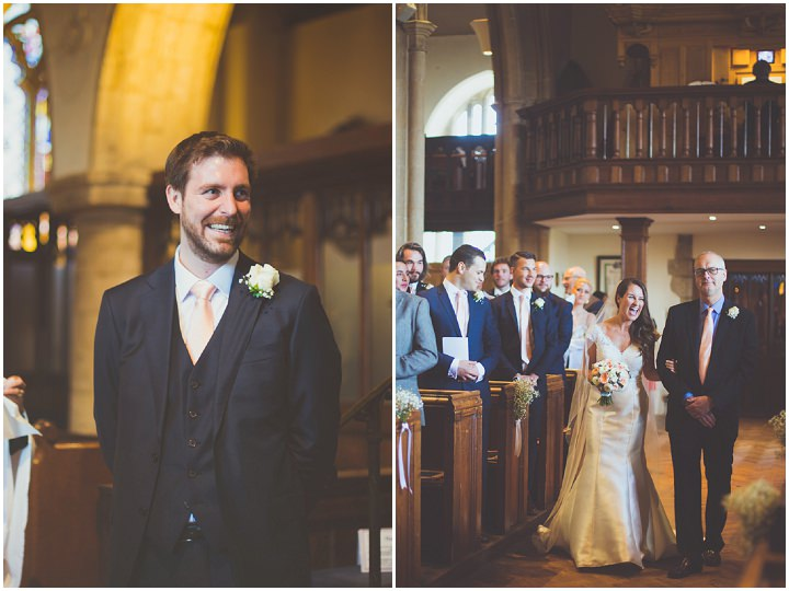Alex and Dan's Spring Pastels Barn Wedding in Hampshire by Sasha Weddings