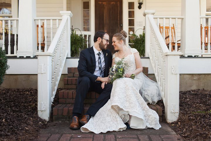 17 Autumn Wedding in the Woods by Leslie West Photo