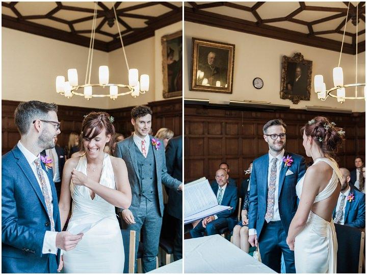 Susan and Mark's Handmade 'Starbucks and Tattoos' Oxford Wedding by Amanda Karen Photography