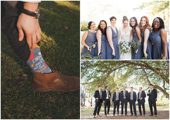 18 Autumn Wedding in the Woods by Leslie West Photo