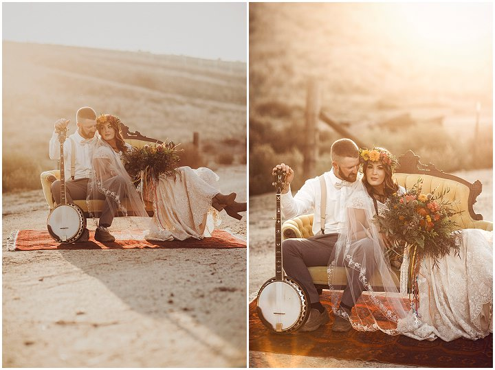 A Free Spirited Kind of Love Shoot from Allison Claire Photography