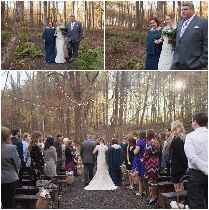 20 Autumn Wedding in the Woods by Leslie West Photo