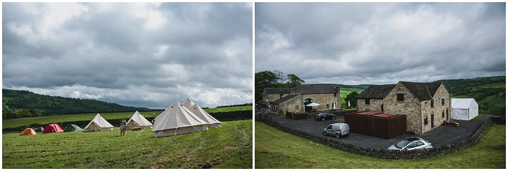 Jessica and Ben's Travel Themed Yorkshire Farm Wedding by Tierney Photography