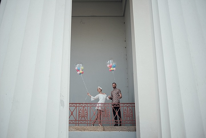 A Vogue Inspired 60s Elopement Shoot from Bespoke Bride Guide.