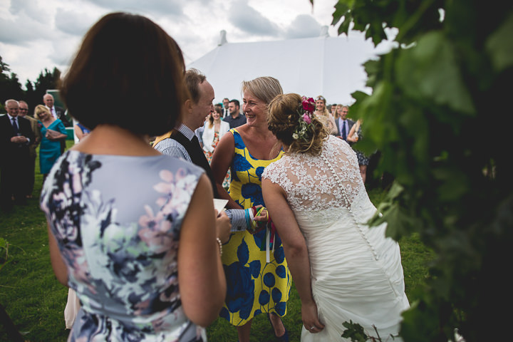 Meg and Neil's Woodland Themed Farm Wedding by Hannah Hall Photography